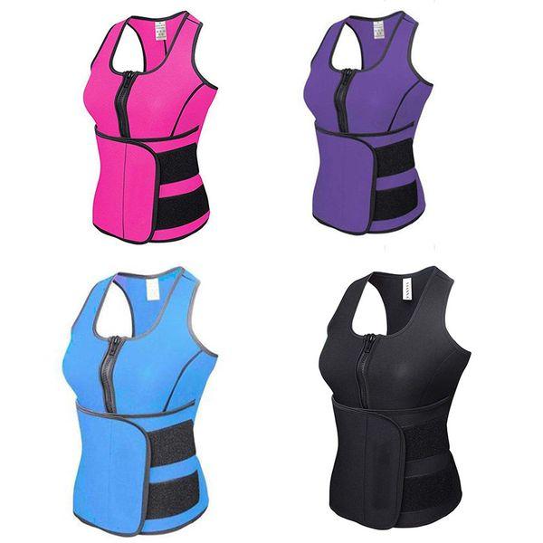 Neue Body Shaper Abnehmen Weste Frauen Korsett Tops Neopren Thermo Fitness Trainer Neopren Sauna Weste Einstellbare Taille Trainer Body Shaper