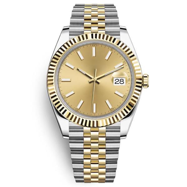 top popular Men watch 41mm high quality sapphire watch automatic mechanical date business men luminous 316L stainless steel waterproof diving watch 2021