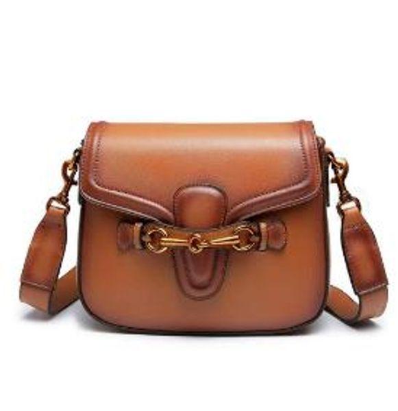2019 new style JHD-Shoulder Bag For Women Fashion Retro Crossbody Handbag Saddle Bag free shipping 383848