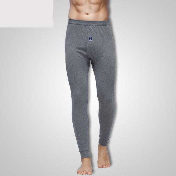 2019 new men thermal underwear pants winter warm cotton long leggings pants thermal underwear bottoms male underwears thumbnail