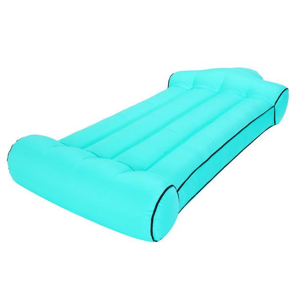 Air Mattress Outdoor Portable Inflatable Water Sofa Camp Mattress Travel Bed Car Back Seat Cover Inflatable Mattress Water Fun GGA1875
