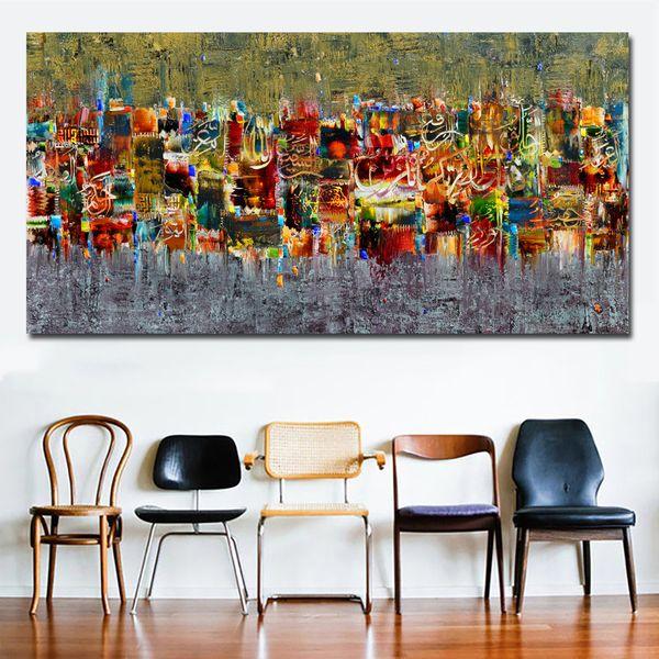 Quadri Moderni Per Soggiorno.Acquista 1 Pannello Astratto Arte Tela Poster E Stampe Paesaggio Pittura Sul Muro Quadri Moderni Soggiorno Stampa Artistica Senza Cornice A 27 36 Dal