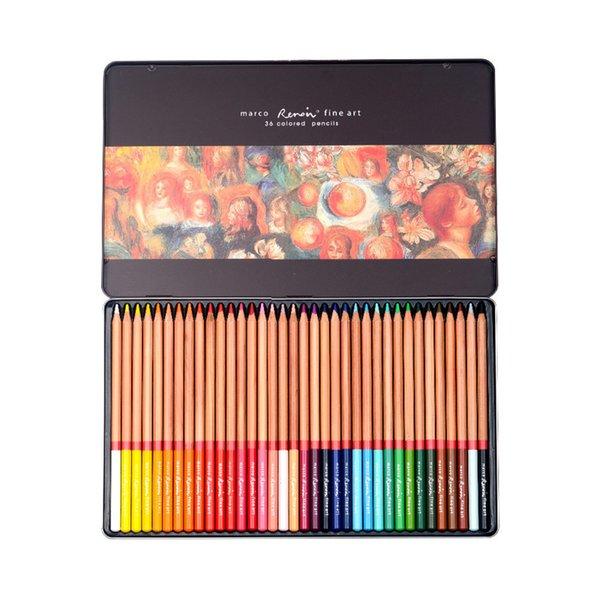 36 Farben Blechdose