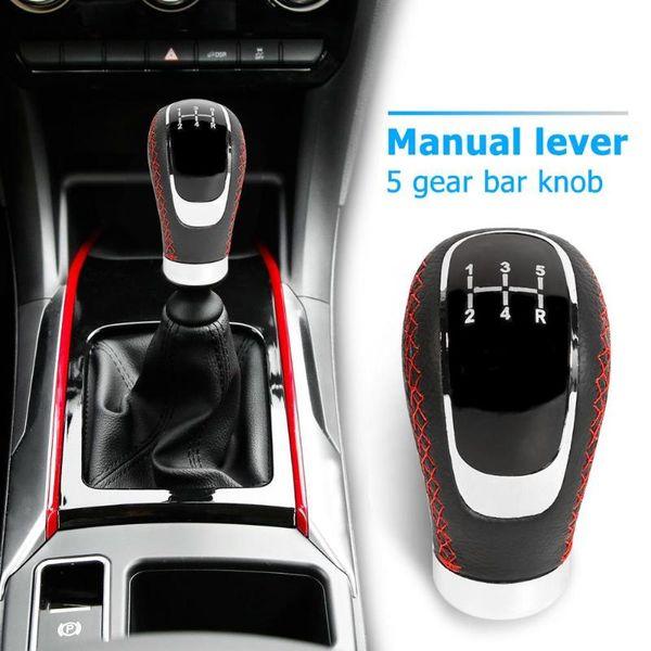 Automotive Car Parts kimiss Car 5Speed Car Gear Stick Shift Knob Head