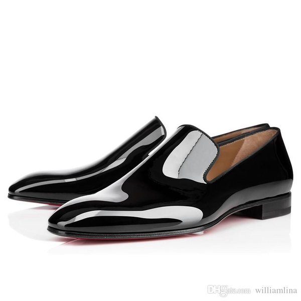 Robe de soirée Gentleman Bussiness Slip On Mocassins Pissenlit Sneaker Red Bottom Oxford Luxe Homme Loisirs Mode plat