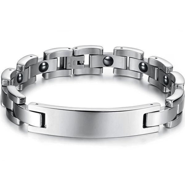 FASHION JEWELRY CATENE BRACCIALI Link Bracciali FREDDO UOMO 316L Taniless Steel 12MM Nuovo Arrivel Lover's Xmas Gift 3019