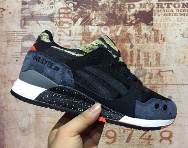 Nueva Moda Lyte III mujeres de los hombres zapatos de diseño GEL 3 hombres de las zapatillas de deporte casual femenino Tamaño 36-45 en Venta OnlineL24