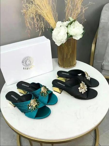 2018 New Fashion Women Platform Mules Pumps Extreme High Heels Party Sexy Shoes Peep Toe ladies Footwear 35-41-No box