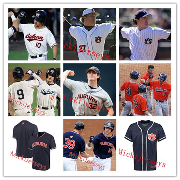 competitive price 3cddb 6f876 2019 Mens Custom Auburn Baseball Jersey Tanner Burns Jack Owen Carson  Skipper Elliott Anderson Tanner Burns #29 Bo Jackson Auburn Jersey From  Xt23518, ...