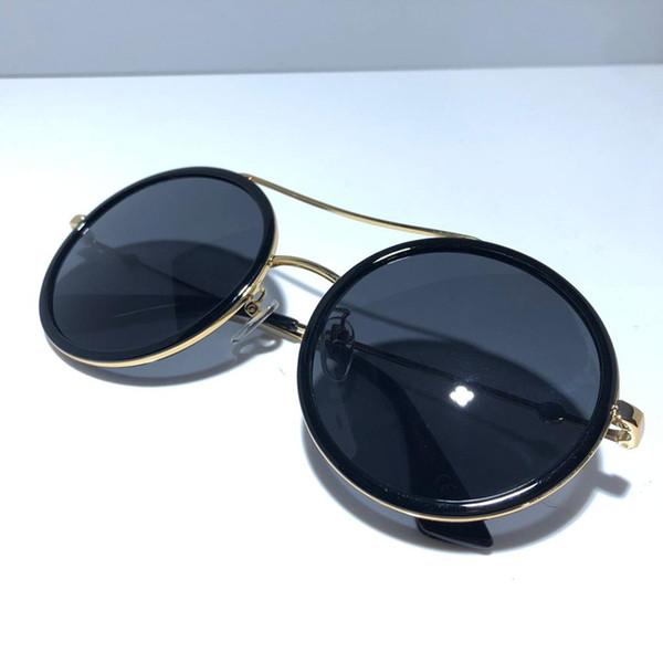 siyah altın gri lens