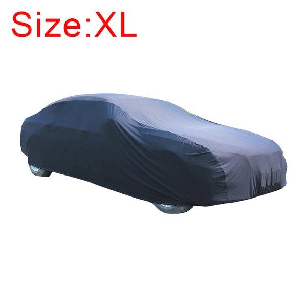 серебристый седан XL