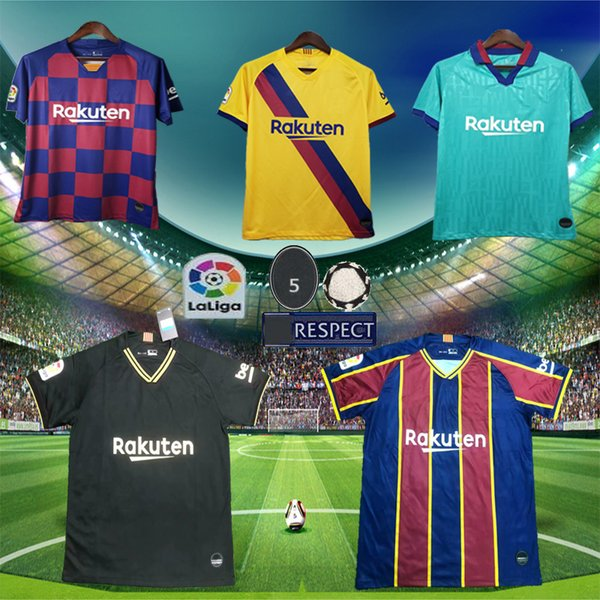2020 2021 Thai Barcelona Messi Griezmann De Jong Soccer Jersey 19 20 Barcelona120th Maillot De Foot Men Kids Barcelona Jersey Football Shirt Black Yellow Buy At The Price Of 23 67 In Dhgate Com Imall Com