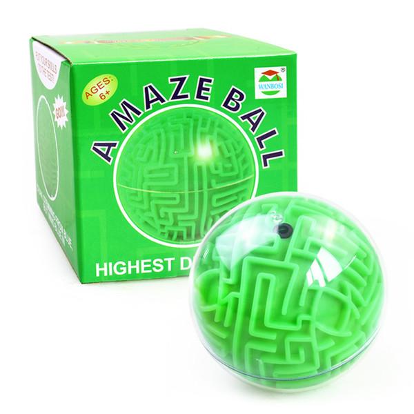 الكرة السحرية الخضراء