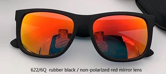 622 / 6Q резина черная / неполяризованная Красная