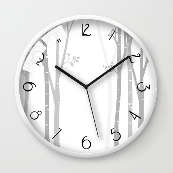 Quartz Metal Creative Wall Clock Living Room Modern Minimalist Wall Clock  Mute Round Home Zegar Clocks Home Decor 50b096 18 Wall Clocks 20 Inch Wall  ...