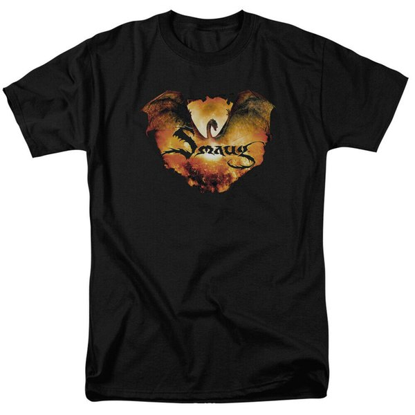 Hobbit Battle Of The Five Armies Smaug Reign Licensed Adult T Shirt