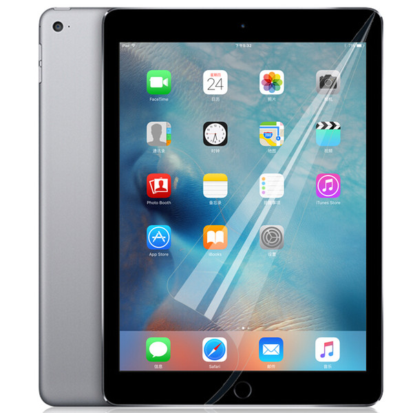 best selling Clear Soft Front LCD Screen Protector Film With Cloth For iPad 7th Gen 10.2 Pro 11 2020 10.5 9.7 2017 2018 2 3 4 5 6 Mini Mini5 Air3 2019