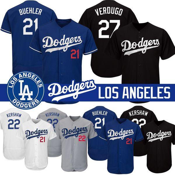 Los Angeles Cody Bellinger Dodgers jerseys Jackie Robinson 22 Clayton Kershaw 27 Alex Verdugo 21 Walker Buehler Felx base