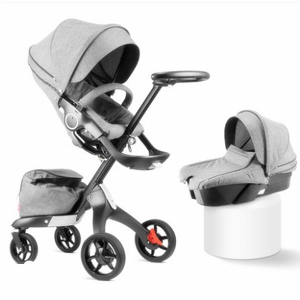 Douxbebe vista alta bambino carrello assorbitore pieghevole portatile può sedersi sul carrello bambino V3 stokk