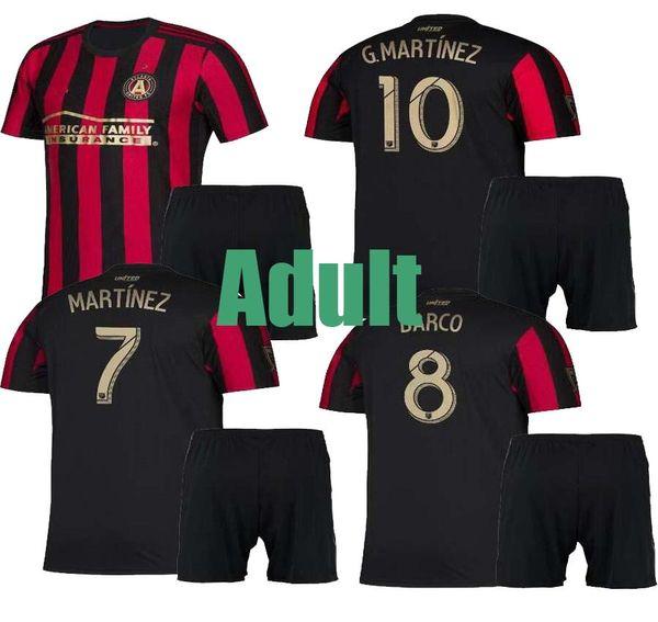 2019 2020 MLS Parley Atlanta United FC Camisetas de fútbol 10 ALMIRON MCCANN VILLALBA 7 MARTINEZ GARZA Personalizado Shi de fútbol local