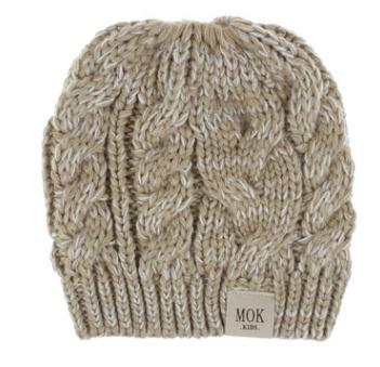 #8 knitted beanie hat