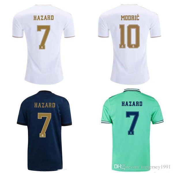 Thai 19 20 camisetas de fútbol del real madrid camiseta de fútbol ASENSIO MODRIC 2019 2020 JOVIC KROOS ISCO jersey PELIGRO camisas de futebol