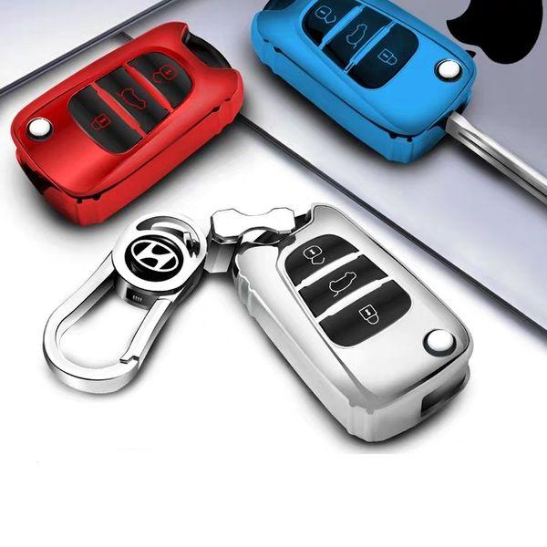 Brevet TPU Voiture Auto Key Key Cover Shell pour Mistra Hyundai Avante I30 IX35 Kia K2 K5 Sorento Sportage Accessoires De Voiture Styling De Mode