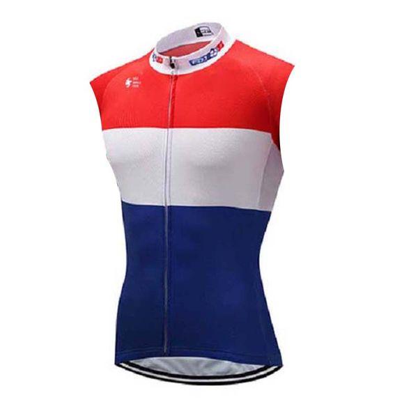 FDJ équipe cyclisme sans manches maillot gilet nouvel été VTT respirant séchage rapide hommes équitation chemises 72540