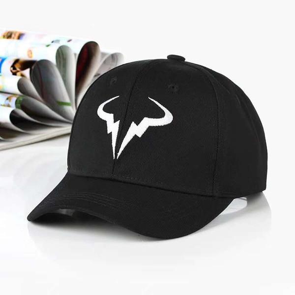 Yeni Tenis Yıldız Roger Federer Baba Şapka Spor beyzbol şapkası% 100% pamuk 3D nakış Unisex Snapback Tenis kapaklar F Şapka