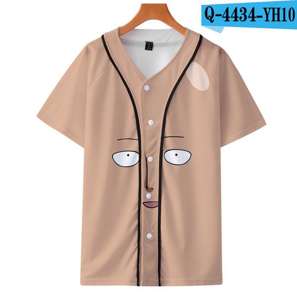 Um soco homem saitama t shirt homens verão japonês anime engraçado impressão camiseta menino manga curta com cor branca moda top tees