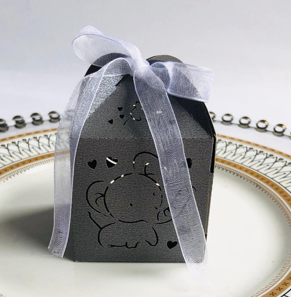 Wedding Boxes Favors Box Gifts Candy Boxes With Ribbon Baby Shower Wedding Event Party Supplies
