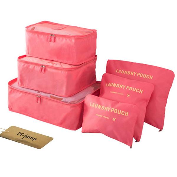 6 Set Borse da viaggio Borse multiuso per smistamento Abbigliamento Borse da viaggio Borse Organizer per bagagli