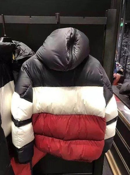 Newest Design France brand Men Casual Down Jacket Down Coats Mens Outdoor Colouring Warm Feather Winter Duck Down Parkas