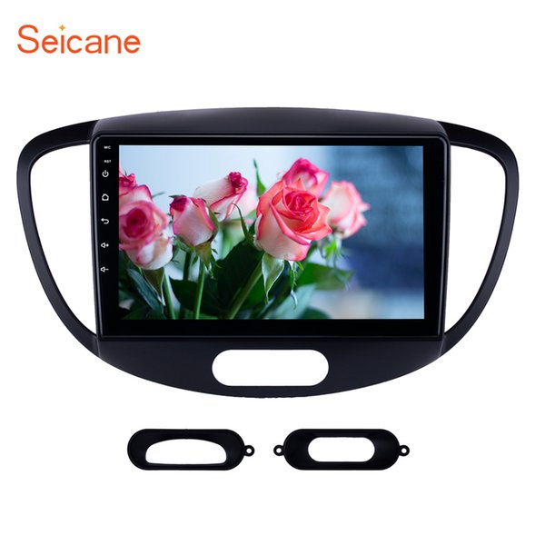 HD Touchscreen 9 inch Android 7.1 GPS Navigation Car Radio for 2010-2013 Old Hyundai i20 with Bluetooth AUX support Carplay SWC