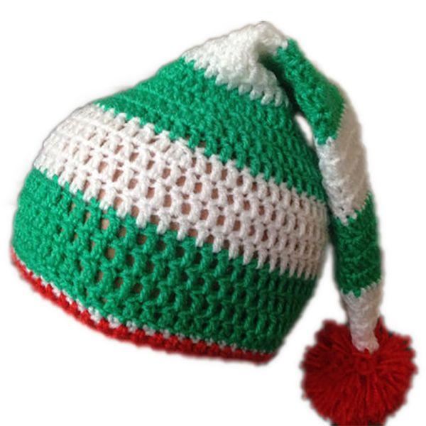 Lovely Green Pom Pom Hat ORIGINAL Knitting PATTERN