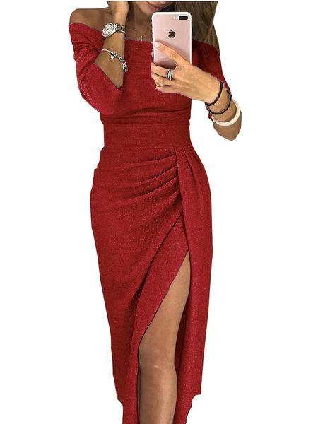 Mini vestido rojo translucido