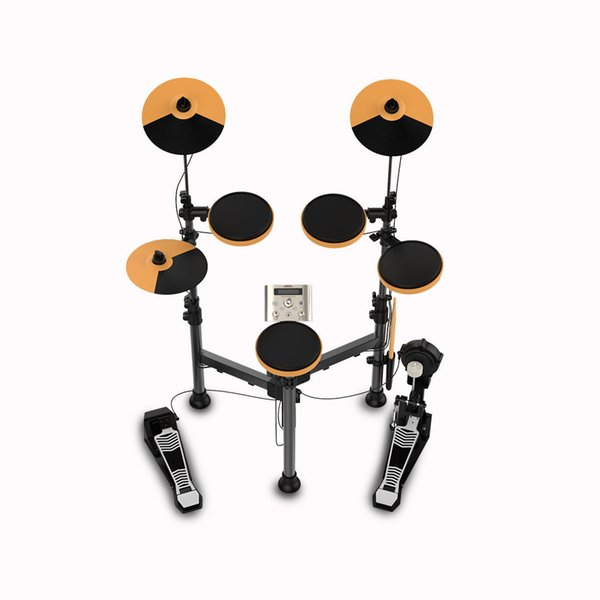best selling Foldable Electronic Drum Set Kit Stand Percussion Build-in Metronome 25 Groups Drum Tones 43 Groups Accompaniment MIDI Jack