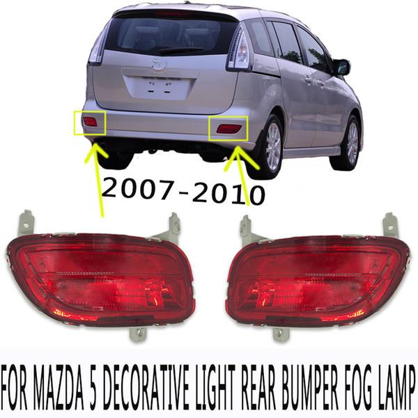 top popular Rear Bumper Fog Light Rear Fog Lamp Reflector Fog Light For MAZDA 5 2nd Generation 2008 2009 2010 2021