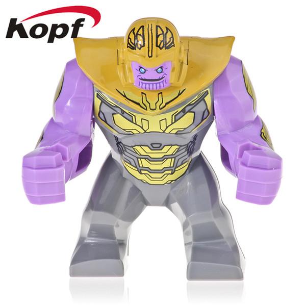 50 Adet Toptan Yapı Taşları Süper Kahramanlar 7 CM Büyük Boy Infinity Savaş Thanos Cull Obsidian Hulk Rakamlar Çocuk Oyuncakları XH 1053