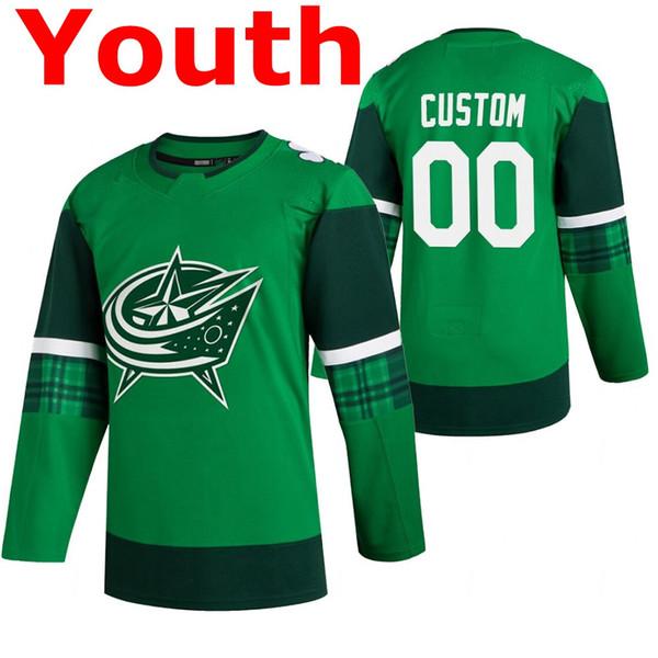 청소년 녹색 성 패트릭 # 039;의 날