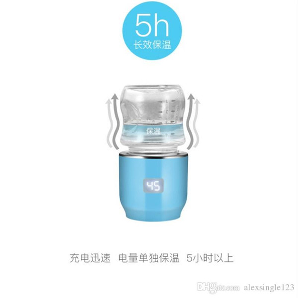 Free shipping jiffi intelligent portable baby milk warmer milk machine automatic constant warm milk insulated bottle
