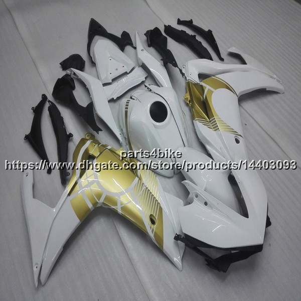 23colors+Gifts gold white Injection mold motorcycle Fairing For yamaha R3 YZF-R25 2015 2016 ABS motorcycle hull