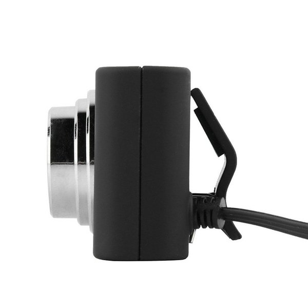 2019 New Top Sale 1PC Mini USB 5M Retractable Clip 120 Degrees WebCam Web Wide-angle Camera Laptop U7