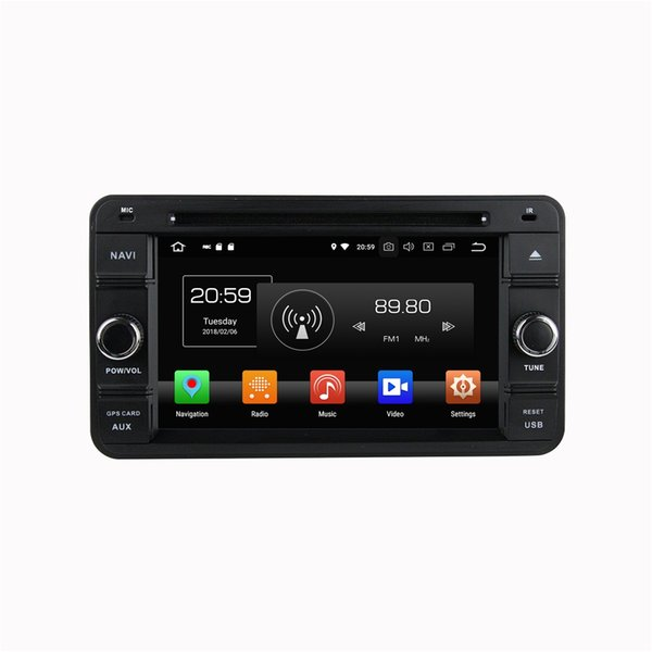 "Octa Core 2 din 6.2"" Android 8.0 Car DVD Radio GPS for Suzuki Jimny 2007-2013 With 4GB RAM 32GB ROM Bluetooth WIFI Mirror-link"