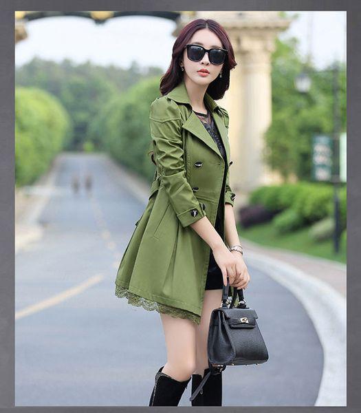 esercito cappotti verdi