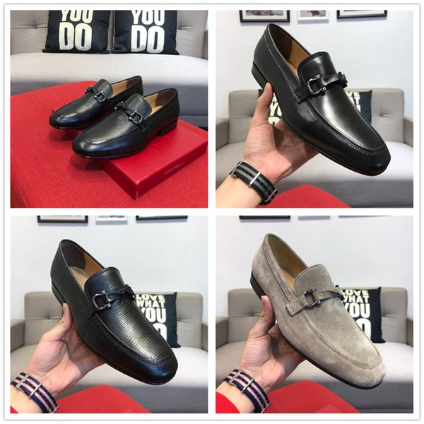 Men Formal Shoes Mens Shoe Luxury Brands Braid Leather Casual Driving Oxfords Shoes Men Loafers Moccasins Business Shoes For Men