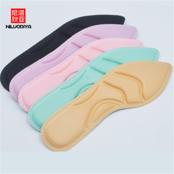 Can Be Cut Unisex Insoles Massage Decompression Pointed High Heels Pad Sponge Insole Women's Summer Shoes Shoe Accessories.7z
