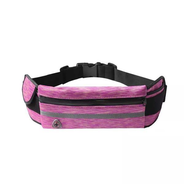 2019 Best selling diving material waist bag outdoor sports pockets marathon running waterproof bumbag multi-function men women fannypack
