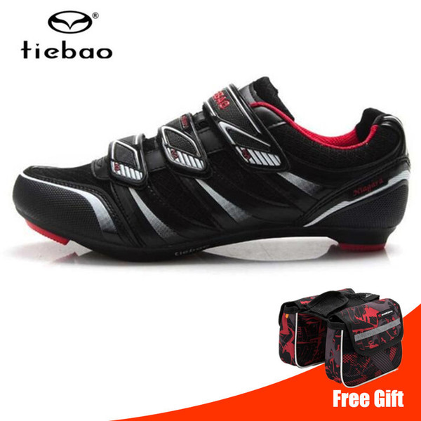 Tiebao bisiklet ayakkabı 2019 kapalı yol bisikleti erkekler sneakers kadınlar açık atletik dağ kaymaz bisiklet oto-kilit spor shoes