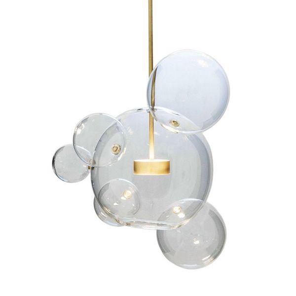 Creative personality postmodern simplicity pendant light Nordic living room restaurant bedroom bubble ball led pendant lamp